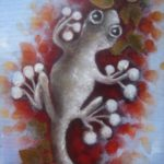 Gecko - watercolour classes brisbane